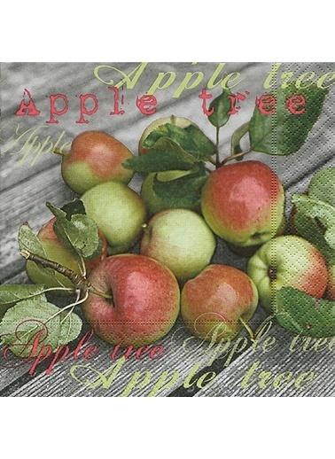 Dünya Style From The Apple Tree Peçete Renkli
